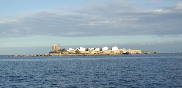 panorámica isla Tabarca