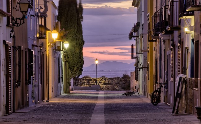 Calle Tabarca Nocturna