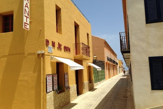 fachada restaurante don jerónimo