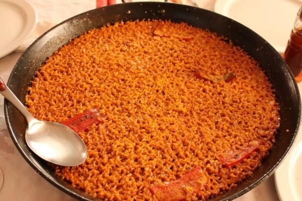 caldero arroz banda restaurante don jerónimo tabarca