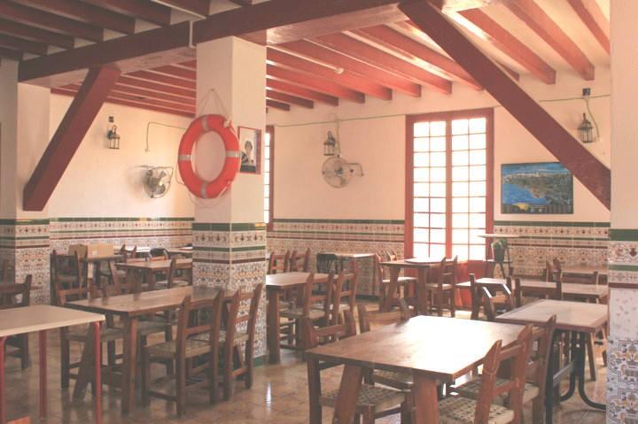restaurante don jerónimo tabarca - salón superior