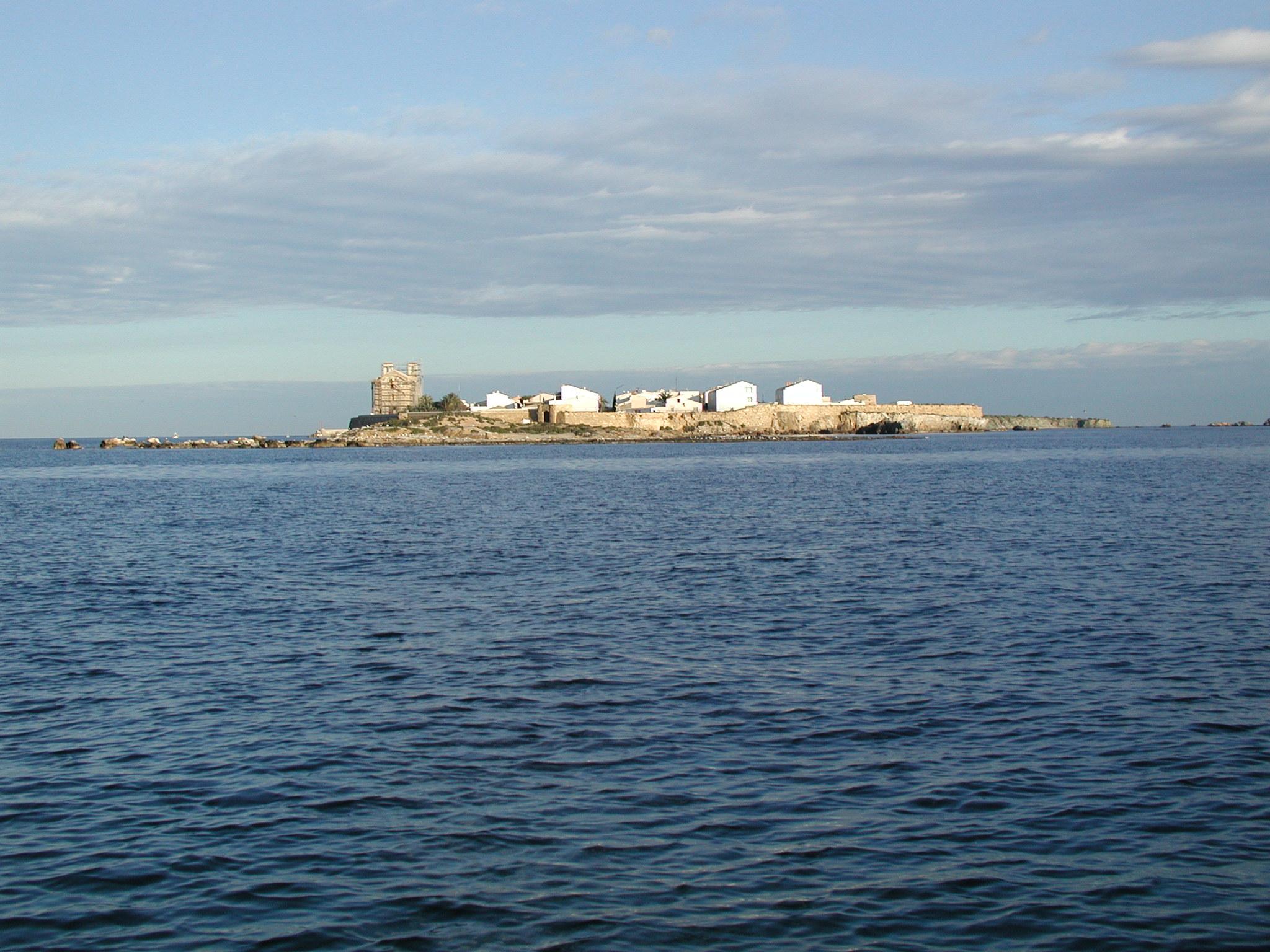 Panor mica isla de tabarca hostal el chiqui - Hoteles en isla tabarca ...